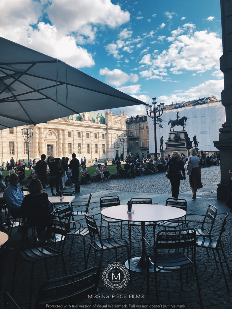 City of Turin wedding shoot