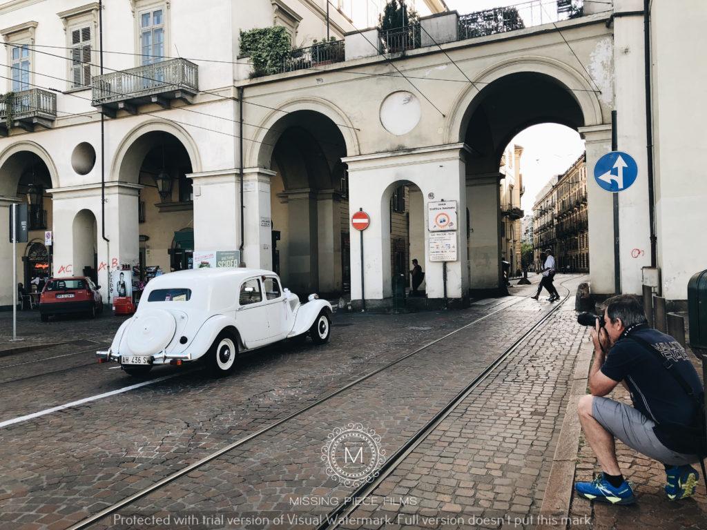 Old Turin wedding photo shoot