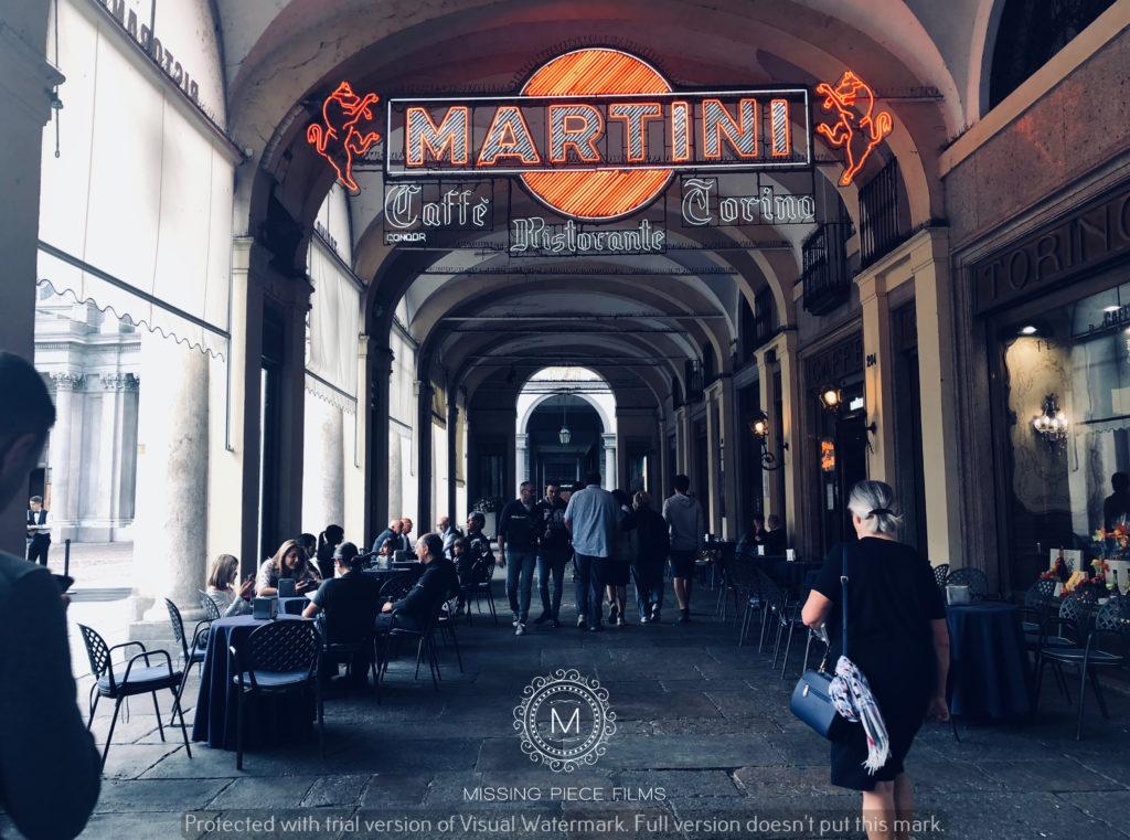 City of Turin wedding video shoot