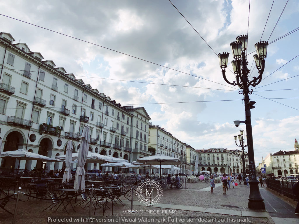 Turin City wedding video shoot