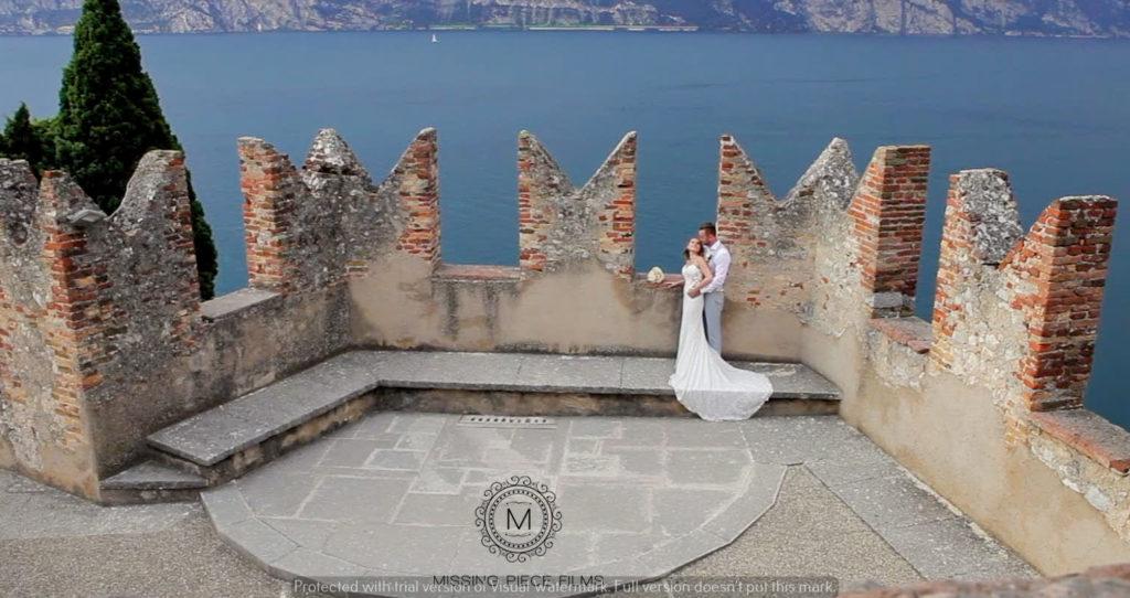Top Wedding Videographer in Lake Garda, Italy