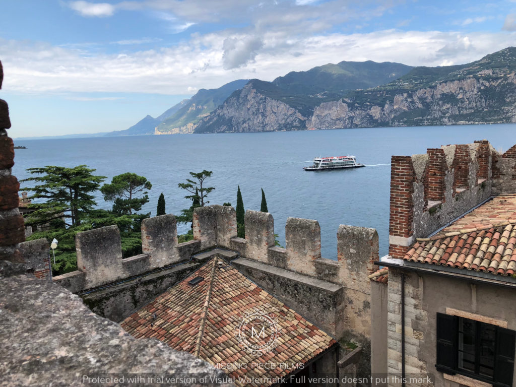 Best wedding views Lake Garda